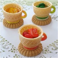 Rainbow candy tea:)
