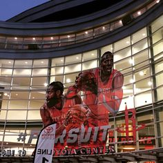 Reporting live from the Toyota Center... Brooklyn Nets vs. Houston Rockets