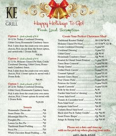 Catering Menu Templates  Catering Menu  Doc  Catering