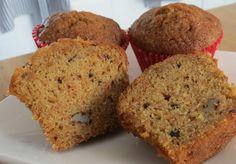 Low FODMAP carrot muffins
