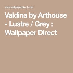 Valdina by Arthouse - Lustre / Grey : Wallpaper Direct