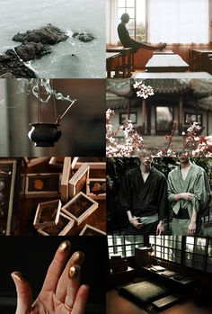 "Wizarding Schools Aesthetic | Mahoutokoro 1/2:  ""Mahoutokoro (Japanese: 魔法所, Mahōtokoro) is the Japanese wizarding school, located on the topmost point of the Volcanic island of Minami Iwo Jima."""