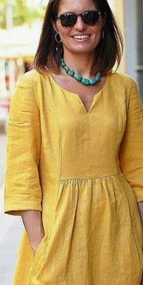 И снова бохо: любимый, незаменимый и удобный… - pionero de la cosmética, alimentación, moda y confección Linen Dresses, Casual Dresses, Short Dresses, Summer Dresses, Casual Outfits, Boho Fashion, Fashion Dresses, Tunic Pattern, Salwar Pattern