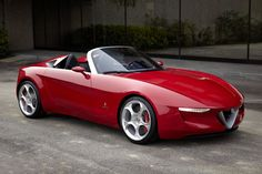 FAB WHEELS DIGEST (F.W.D.): 2010 Alfa Romeo Pininfarina 2uettottanta Concept