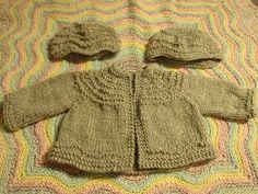 Ravelry: Rippled Baby Set pattern by Malissa Ackerman Lightfoot