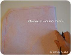 los tutoriales de artbril: DIY- Tutorial cómo hacer un bolso de mano - 2 ª parte