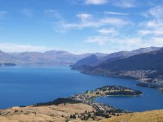 Overlooking Queenstown, New Zealand.