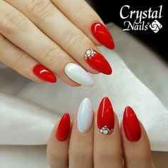 Amazing Red Nails Perfect for Christmas