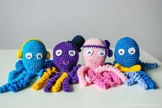 Comfort a Preemie with These 10 Crochet Octopus Patterns