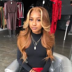 Shop our online store for Brown hair wigs for women.Brown Wig Lace Frontal Hair Honey Brown Wig For Sale From Our Wigs Shops,Buy The Wig Now With Big Discount. Honey Brown Hair, Honey Blonde Hair, Blonde Wig, Brown Hair Sew In, Blonde Hair Sew In, Blonde Ombre Weave, Blonde Hair Black Girls, Brown Hair With Blonde Highlights, Black Girl Hair Colors