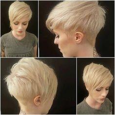 Bildergebnis für kurze blonde haare