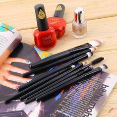 20Pcs Makeup Set Powder Foundation Eyeshadow Eyeliner Lip Cosmetic Brushes T5