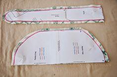 Tutorial Kimo-Kap con fotos paso a paso Scrubs Pattern, Scrub Hat Patterns, Hat Patterns To Sew, Sewing Patterns, Sewing Hacks, Sewing Crafts, Sewing Projects, Surgical Caps, Scrub Caps