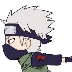 Little cute chibi Kakashi. Kakashi Hatake Hokage, Hatake Clan, Kakashi Sensei, Gaara, Sasuke Uchiha, Naruto Shippuden, Boruto, Female Ninja, Naruto Drawings