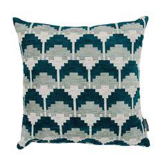 Kirkby Design Arcade Cushion - Teal