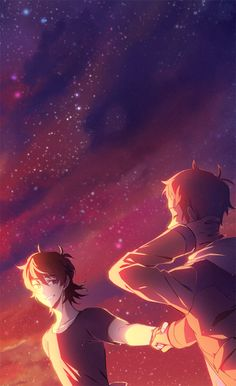 """lowaharts: """"preview of my piece for @klancefanzine ❤️ """" preorders are now open!! You can buy it HERE"""