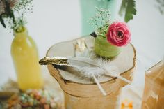 Indoor Rustic Wedding In the Winter | One of the most well done and creative weddings we have even seen. | Incredible!