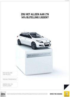 Twitter / reclametips: Renault Megane niet alleen ...