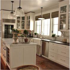 Great kitchen white