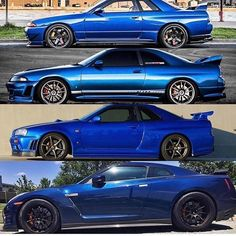 What\'s your favorite generation?   Via @gtrgeneration #skyline #gtr #jdm #nissan #instalike #turbo #r32 #import #instagood #tuned #r34 #godzilla