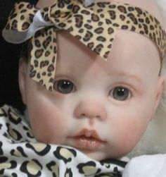 """Reborn OOAK Baby Girl Doll """"Chanel"""" by Donna Rubert now ~Avalon~"""