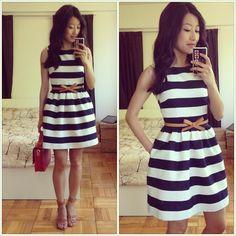.@Trisha Roberts Petite Blog   BBQ #OOTD - DIY dress inspired by @Sarah Mandell White Petite Gal + belt thanks to the sweet @W...   Webstagram - the best Instagram viewer