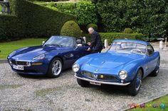 Old v. new BMWZ8 & BMW 507