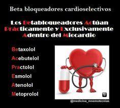 Betabloqueadores cardioselectivos