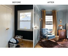 One Room Challenge, The Reveal: A Modern Traditional Master Bedroom Traditional Bedroom, Modern Traditional, Traditional Kitchens, Traditional Homes, Master Bedroom, Bedroom Decor, Bedroom Ideas, Bedroom Girls, Bedroom Colors
