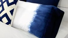 Make Your Own Dip-Dyed Bedding