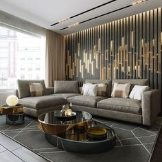 41 Inspiring Modern Living Room Decor for Your House is part of Living room designs Attempt to resist the urge to fill up the space whenever you don& have to Snug rooms are a possiblity […] - Living Room Modern, Home Living Room, Interior Design Living Room, Contemporary Living Rooms, Luxury Living Rooms, Interior Livingroom, Contemporary Wallpaper, Living Room Unique Ideas, Contemporary Architecture