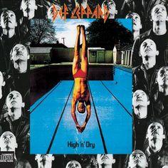 Def Leppard - High 'N' Dry (Mercury Records)