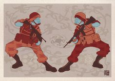 We are Japanese if you please by George Whitlock, via Behance