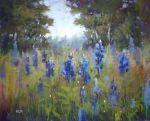 New Marsh Painting...Interpreting a Photo, original painting by artist Karen Margulis | DailyPainters.com