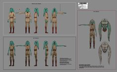 The Art of Star Wars: The Clone Wars Star Wars Baby, Star Wars Jedi, Star Wars Rebels, Female Stormtrooper, Character Reference Sheet, Animation Programs, Star Wars Characters Pictures, Star Wars Outfits, Star Wars Concept Art