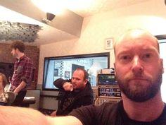 RUUD JOLIE in the studio with Maiden United