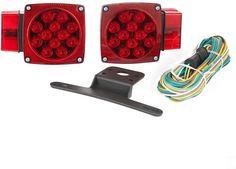 TowSmart 80 in. Over and Under DOT LED Trailer Stop Turn Running Tail Light Kit #TowSmart