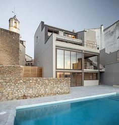 M House by Vicente Guallart/ La Nou de Gaià, Spain