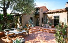The Ultimate Inspiration For Spanish Styling --- Spanish style backyard