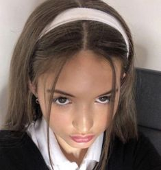 2000s Hairstyles, Hairstyles For School, Ponytail Hairstyles, Girl Hairstyles, Ulzzang Hairstyle, Preppy Hairstyles, Girls Hairdos, Korean Hairstyles, Hair Inspo
