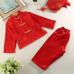 PAO FU Baby Girl Boy Clothes Dragon Wings Bodysuit Romper Jumpsuit Outfits Baby One Piece Long Sleeve