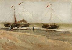 Vincent Van Gogh, The Beach of Scheveningen, August 1882.