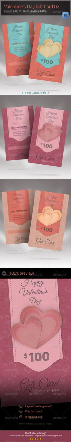 Gift Card for Valentines Day