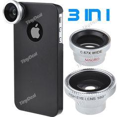 3 in 1 Detachable Lenses, $19.42