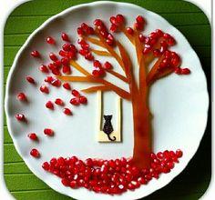 Fruit Decoration Ideas For Kids Food Art 41 Ideas Fruit Decorations, Food Decoration, Cute Snacks, Cute Food, Finger Foods For Kids, Bento, Food Art For Kids, Creative Food Art, Food Carving