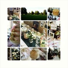 A collage of our time at the Spectacular Vintage Wedding Fair. Vintage China, Vintage Tea, Wedding Fair, Tea Party, Collage, Table Decorations, Home Decor, Homemade Home Decor, Collage Art