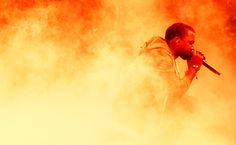 kanye west at moma by jak i don't care what you say i think he's the bosssss