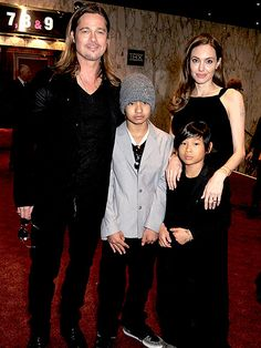 The Jolie-Pitt Family Album: Their Sweetest Outings Together |  | For the London premiere of Pitt's film World War Z in 2013, Maddox and Pax accompanied their parents for a family movie night.