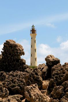 'California Lighthouse - Aruba' Throw Pillow by DJ Florek California Lighthouse, Vacation Places, Vacations, Lighthouse Keeper, Tourism Website, Ocho Rios, West Indies, Jamaica, Dj