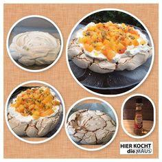 >< Pavlova Torte <>  Rezept:  www.facebook.com/hierKochtDieMaus